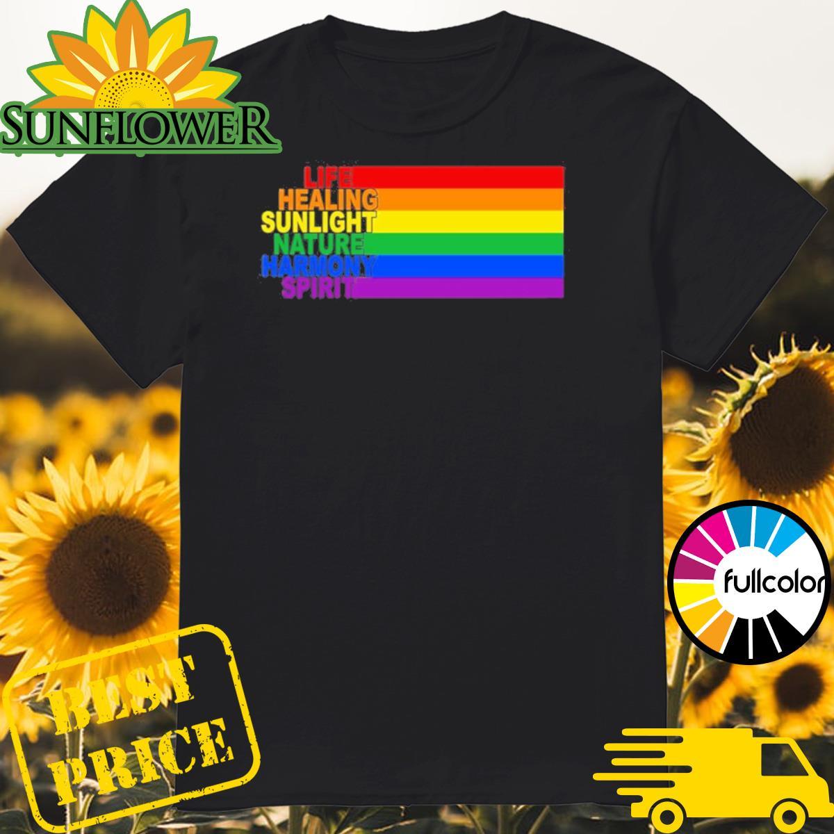 LGBT Life Healing Sunlight Nature Harmony Spirit Shirt