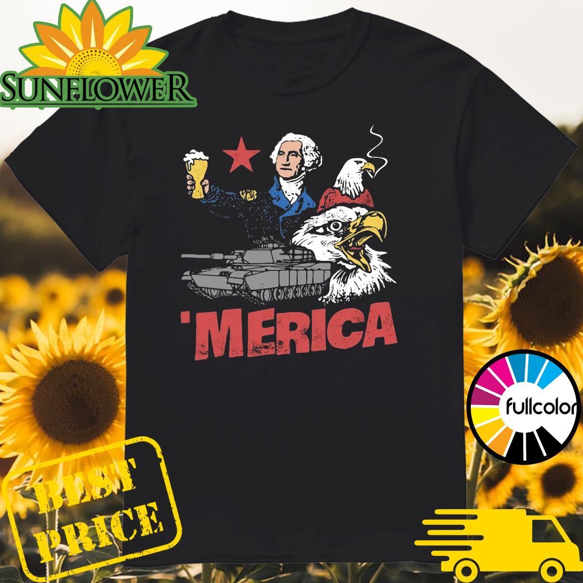 _Merica Eagle American Shirt