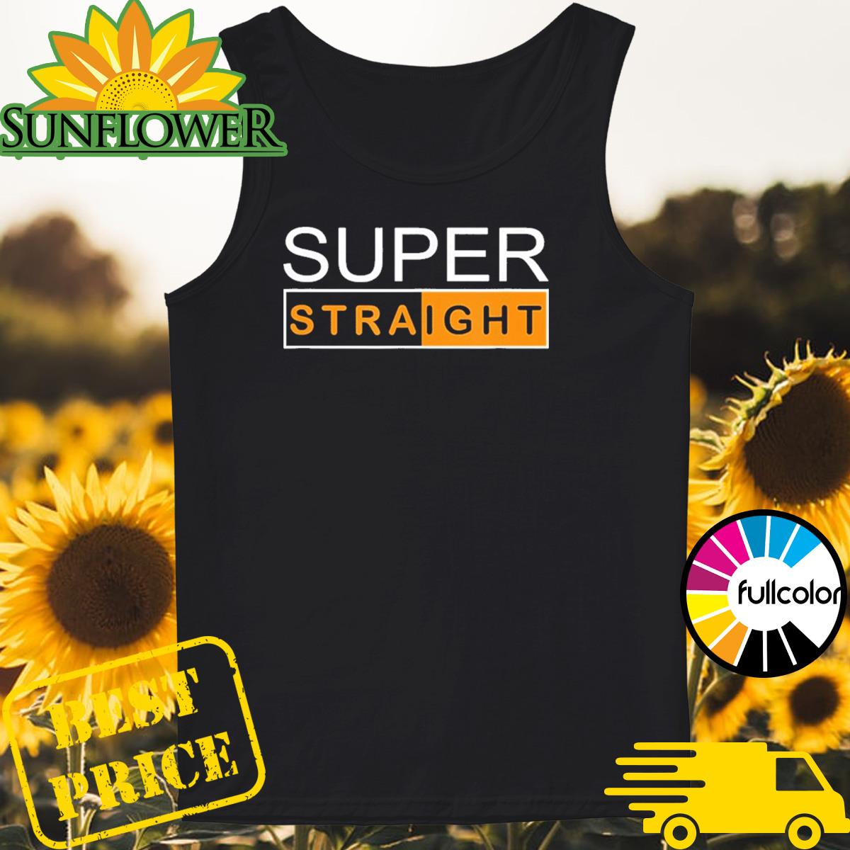 Official Super Straight Identity Shirt Tank-top