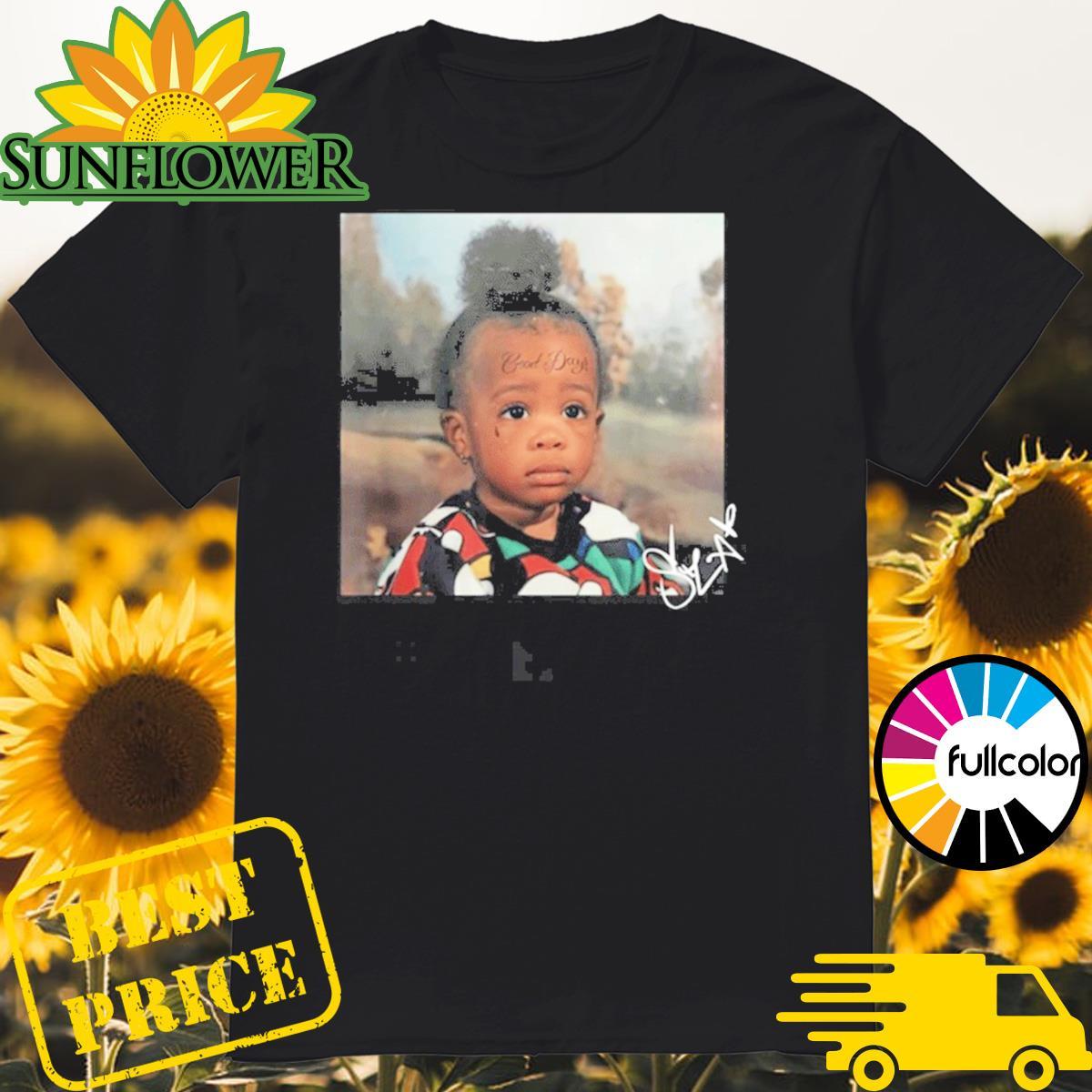SZA Good Days Merch GD Baby Shirt