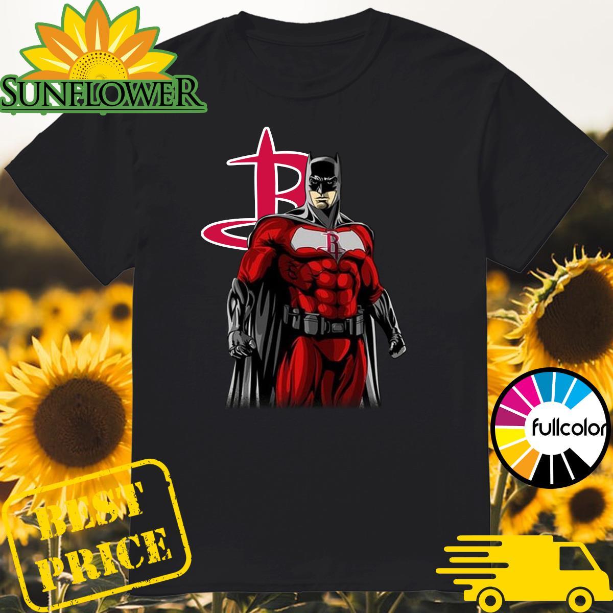 Official Batman Houston Rockets Shirt