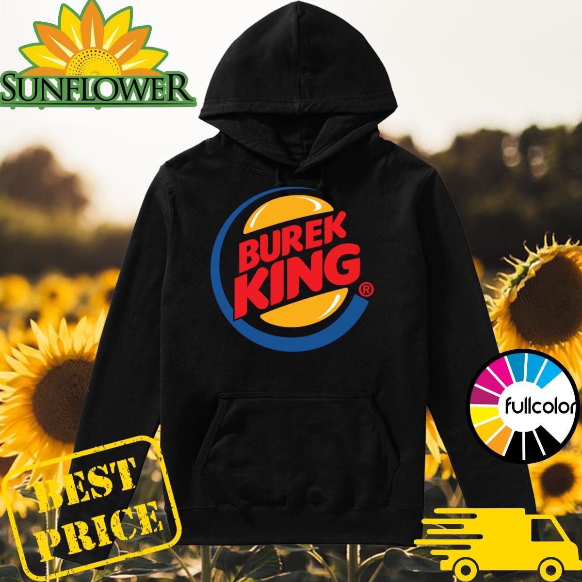 Official Burek King Logo Tee Shirt Hoodie