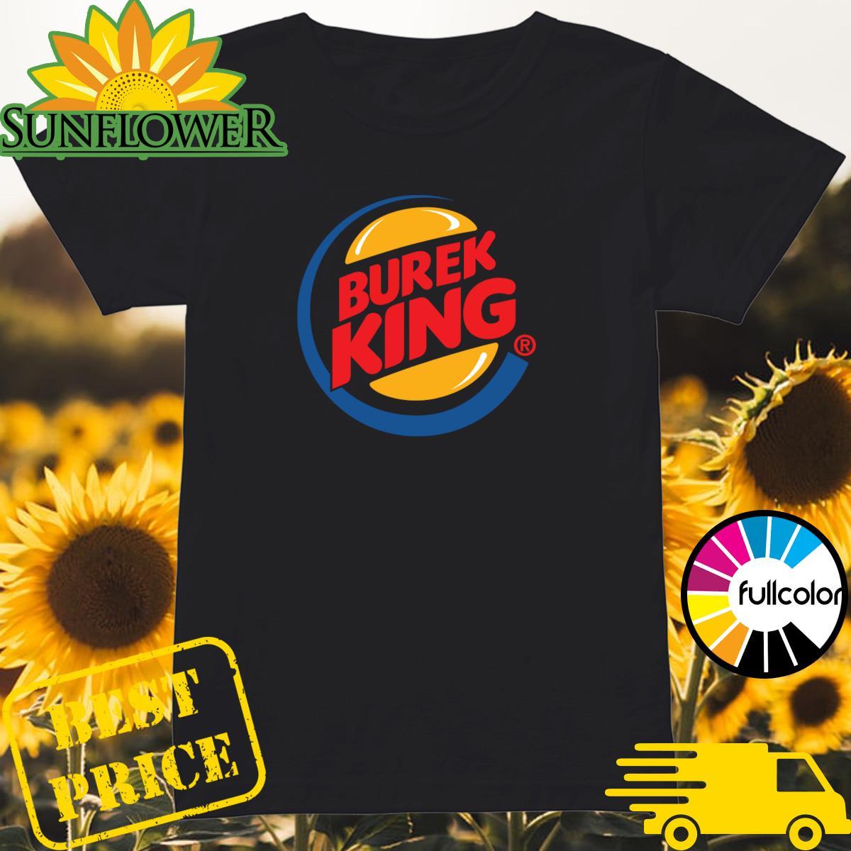 Official Burek King Logo Tee Shirt Ladies