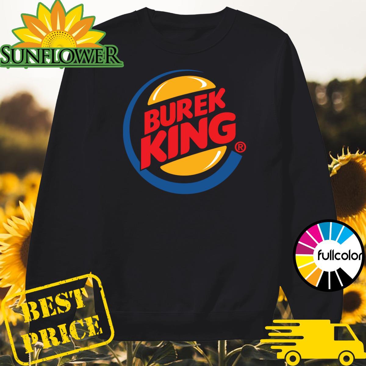 Official Burek King Logo Tee Shirt Sweater