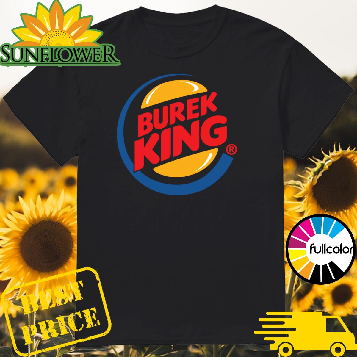 Official Burek King Logo Tee Shirt