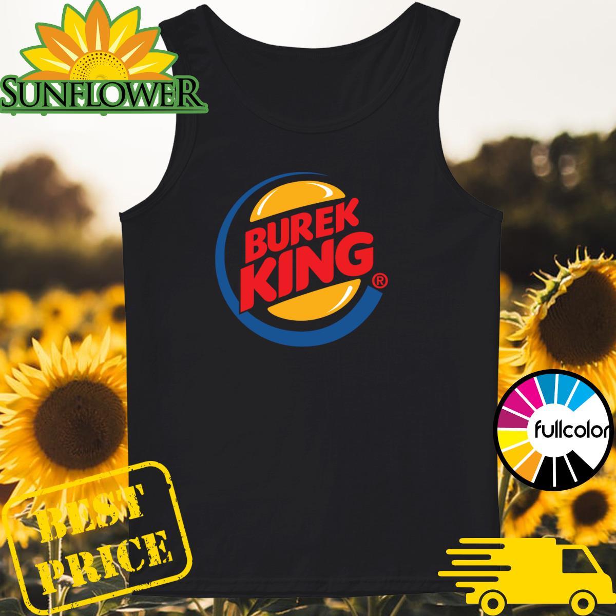 Official Burek King Logo Tee Shirt Tank-top