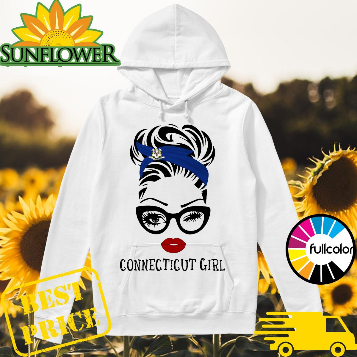 Official Connecticut Girl Shirt Hoodie