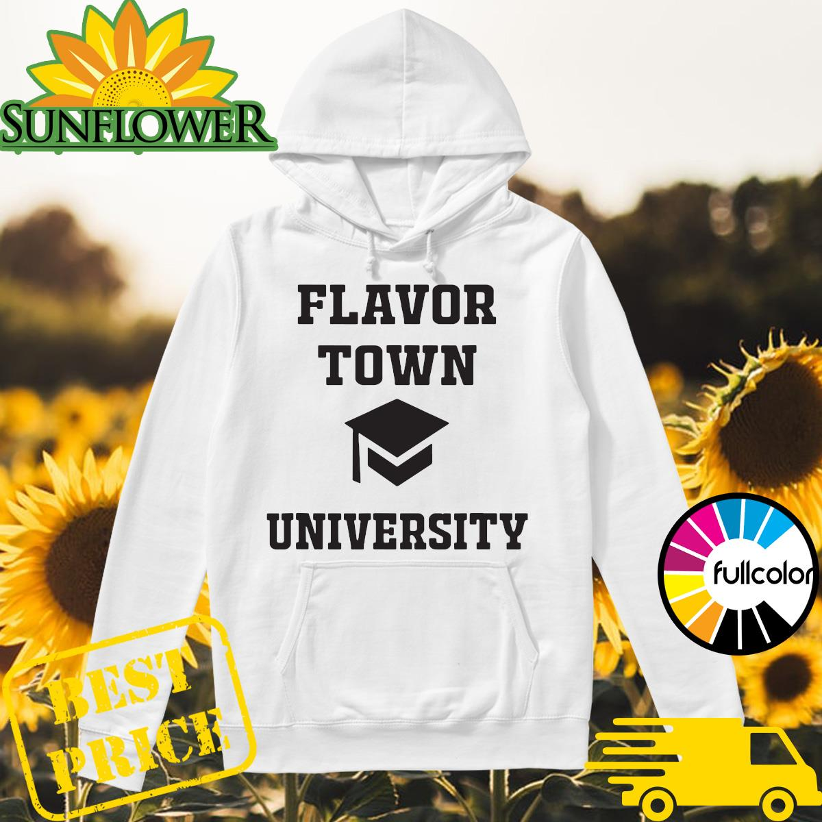 Official Flavortown University Shirt Hoodie