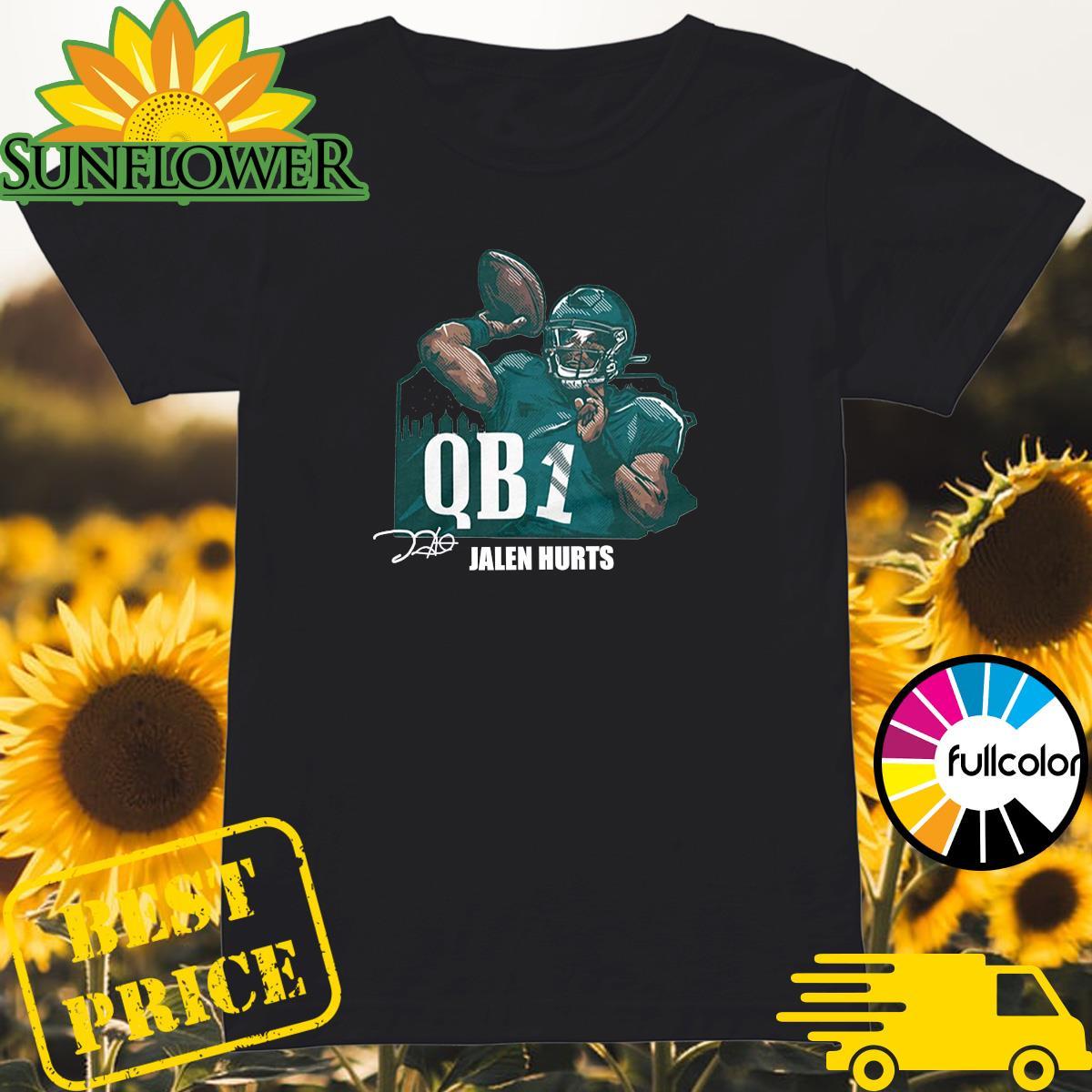 Official Jalen Hurts QB1 Shirt Ladies