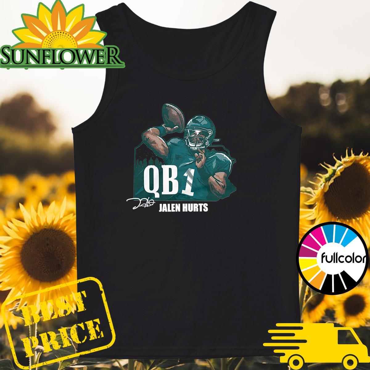 Official Jalen Hurts QB1 Shirt Tank-top