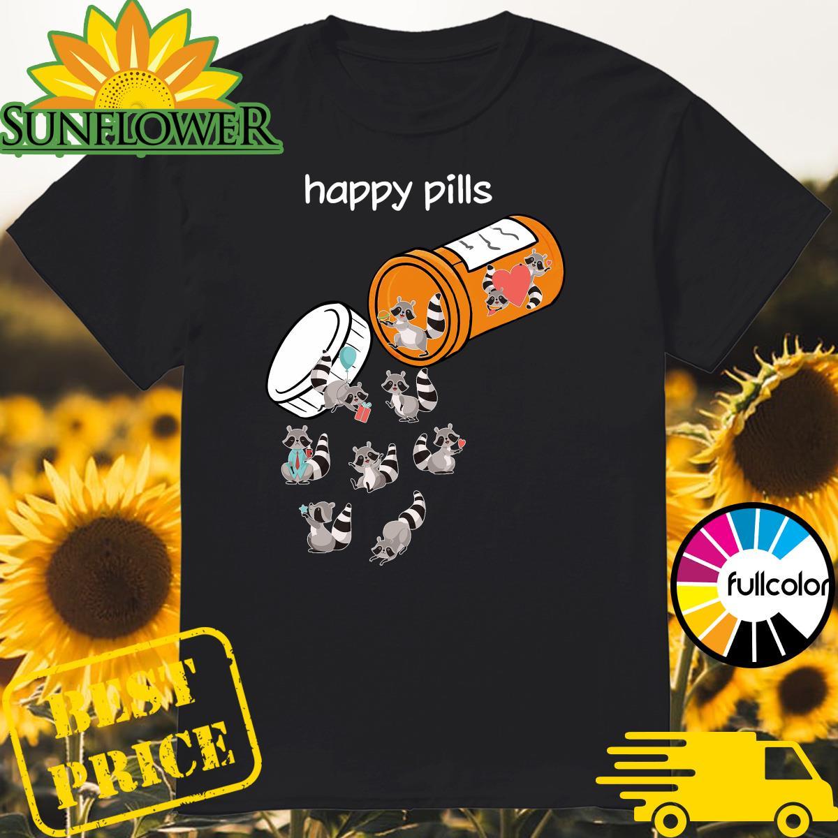 Official Marsupialia Happy Pills Shirt