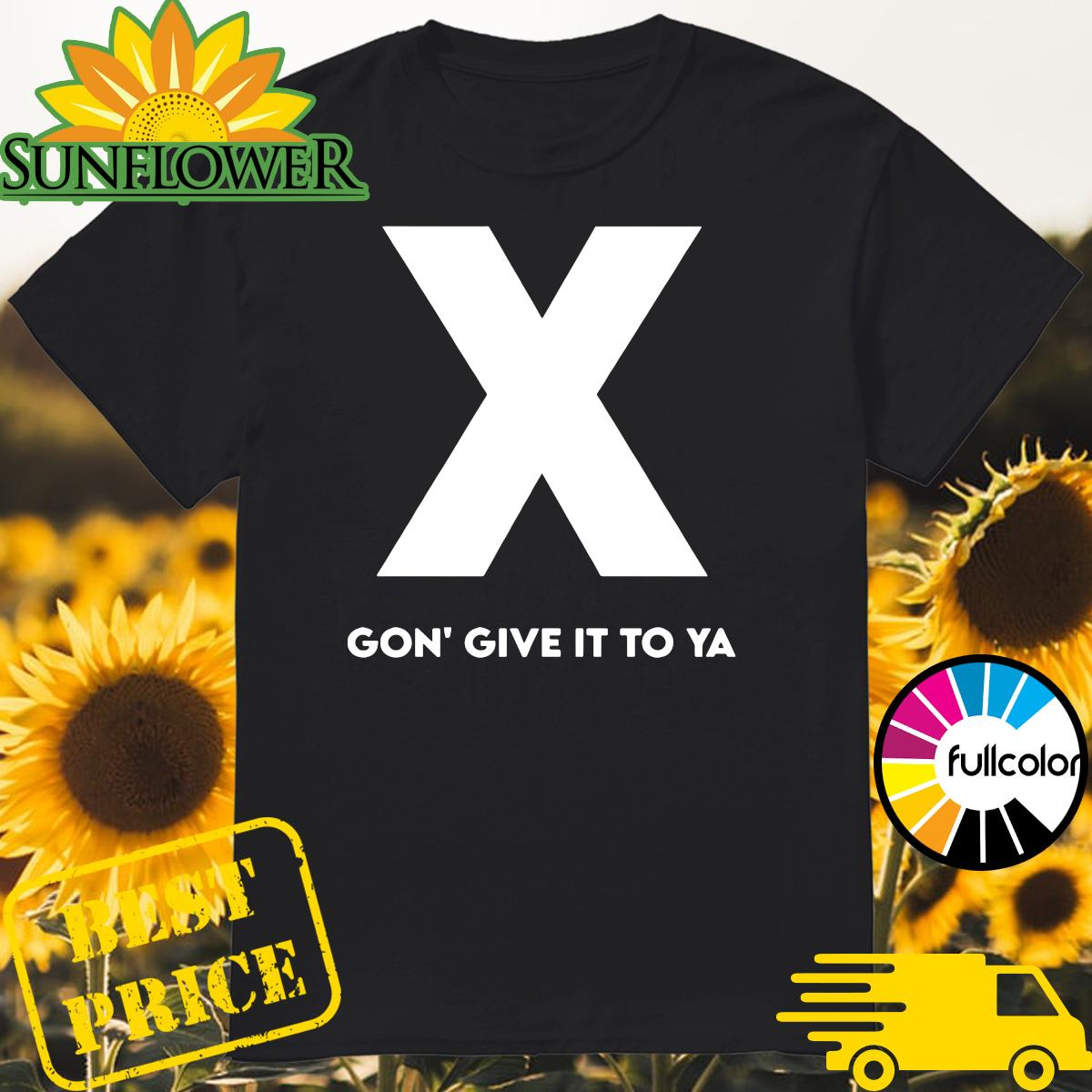 Official RIP DMX X Gon' Give It To Ya Shirt