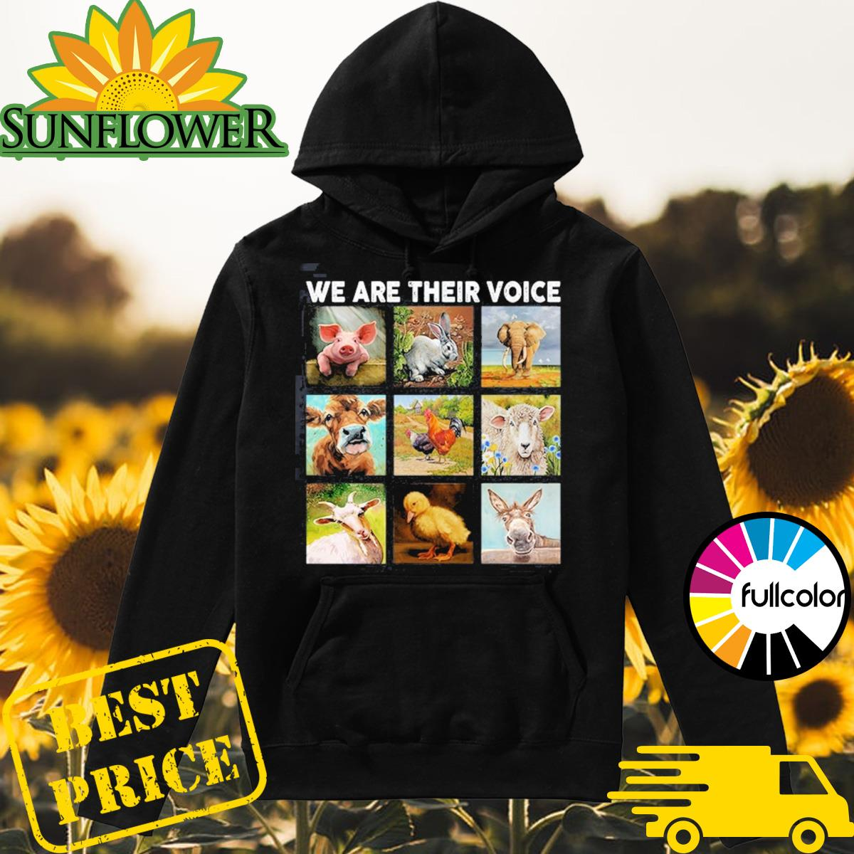 Official We Are The Voice Animal Happy Earth Day 2021 Shirt Hoodie