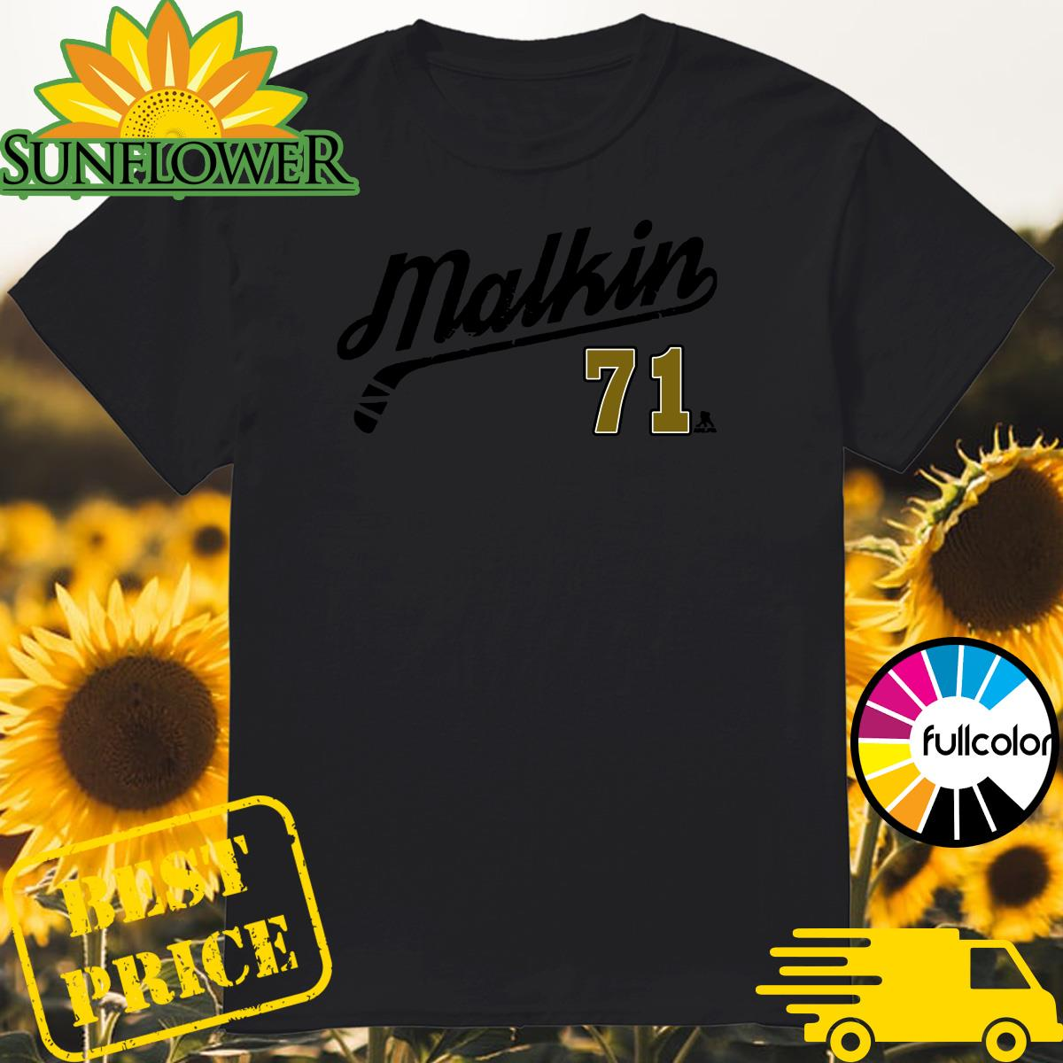 The Evgeni Malkin 71 Number Tee Shirt