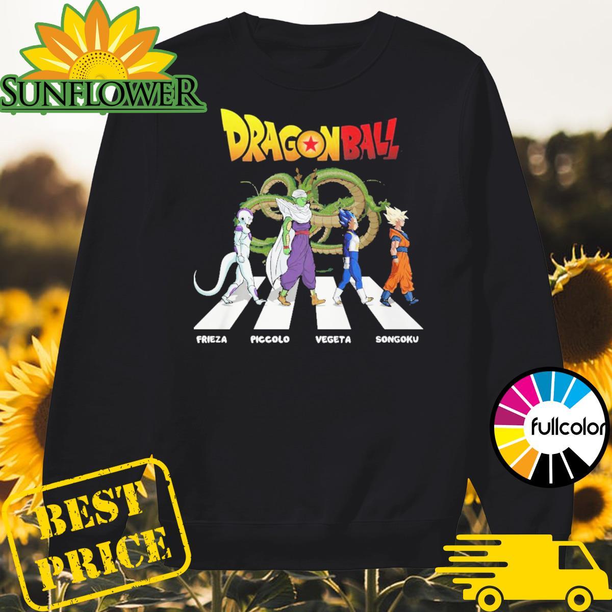 Dragon Ball Frieza Piccolo Vegeta Songoku walking on the street Sweater
