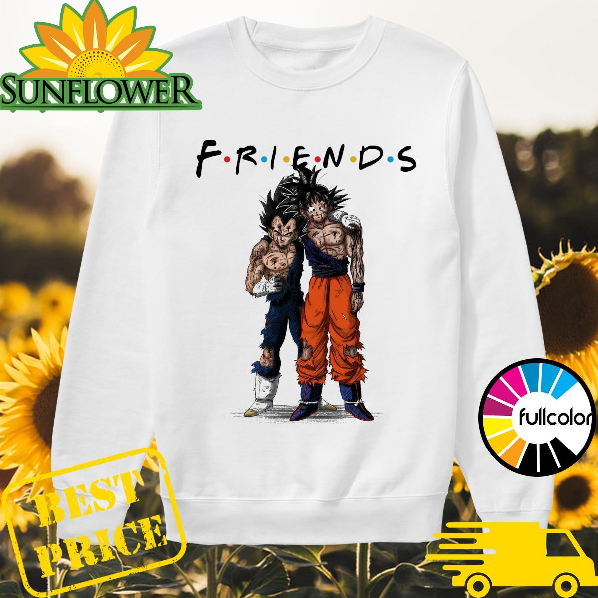 Friends Vegeta and Songoku stan by stan Sweater