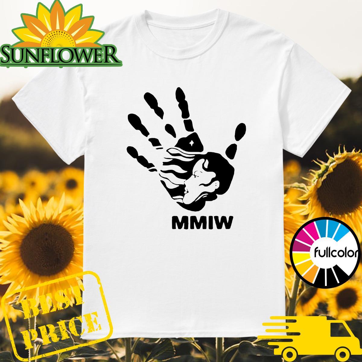 MMIW blood hand sign shirt