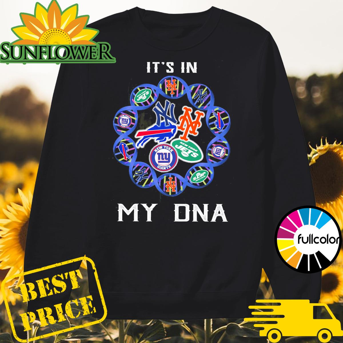 National Football League Teams It's in my DNA Sweater