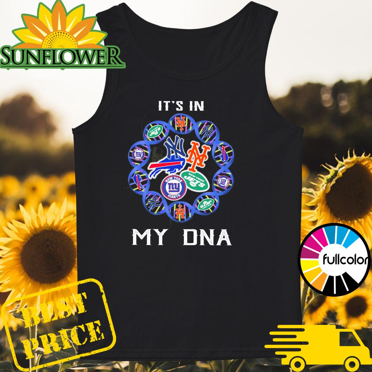 National Football League Teams It's in my DNA Tank-top