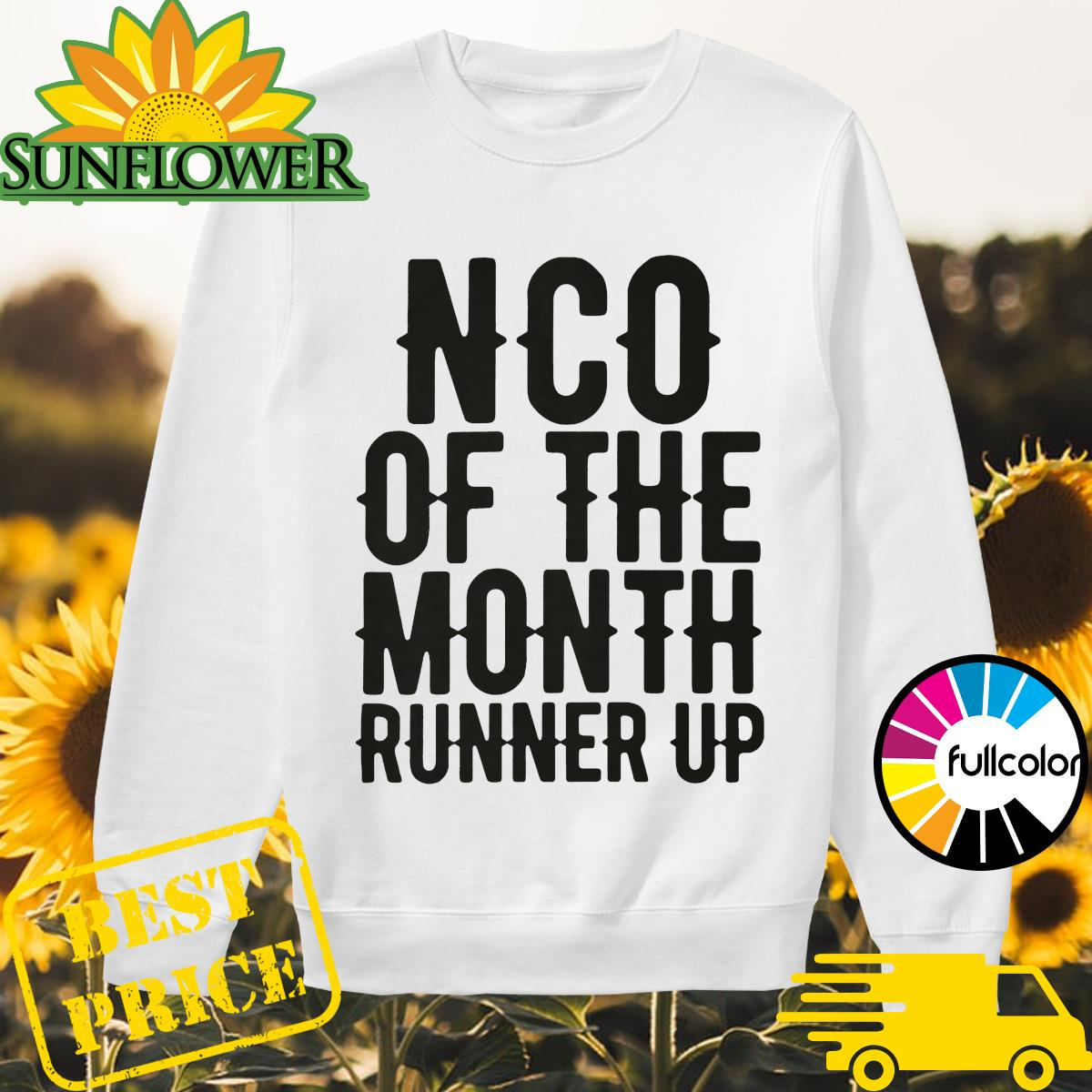 NCO of the month runner up Sweater
