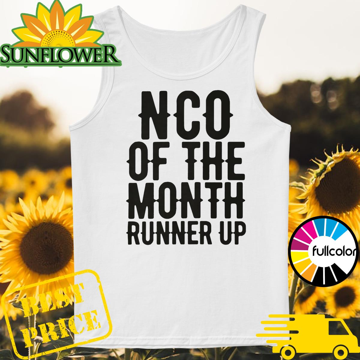 NCO of the month runner up Tank-top