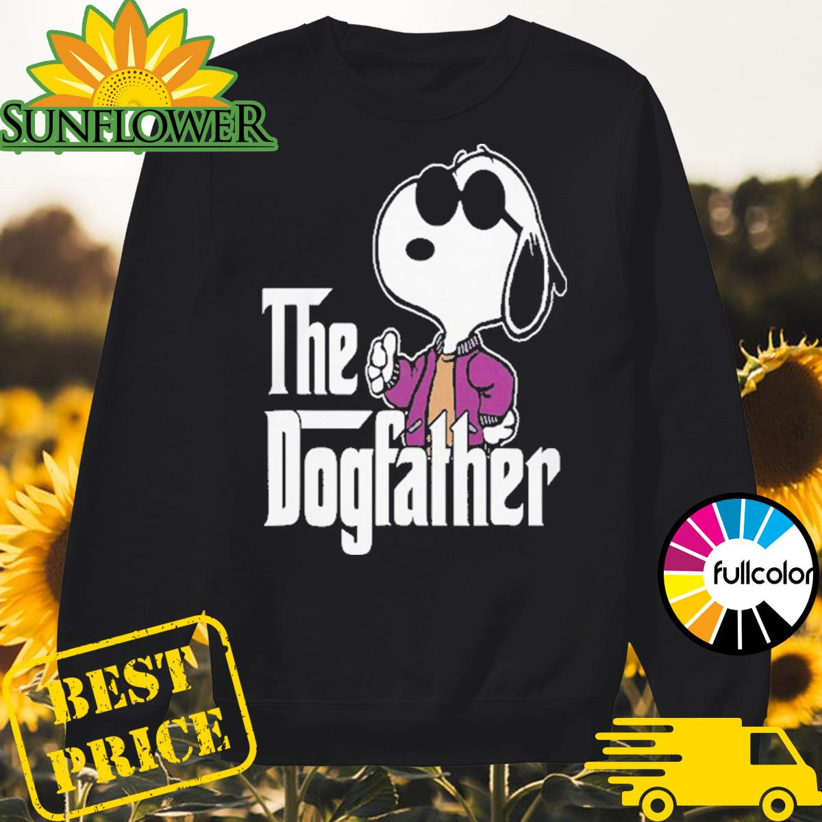 Snoopy The Dogfather Sweater