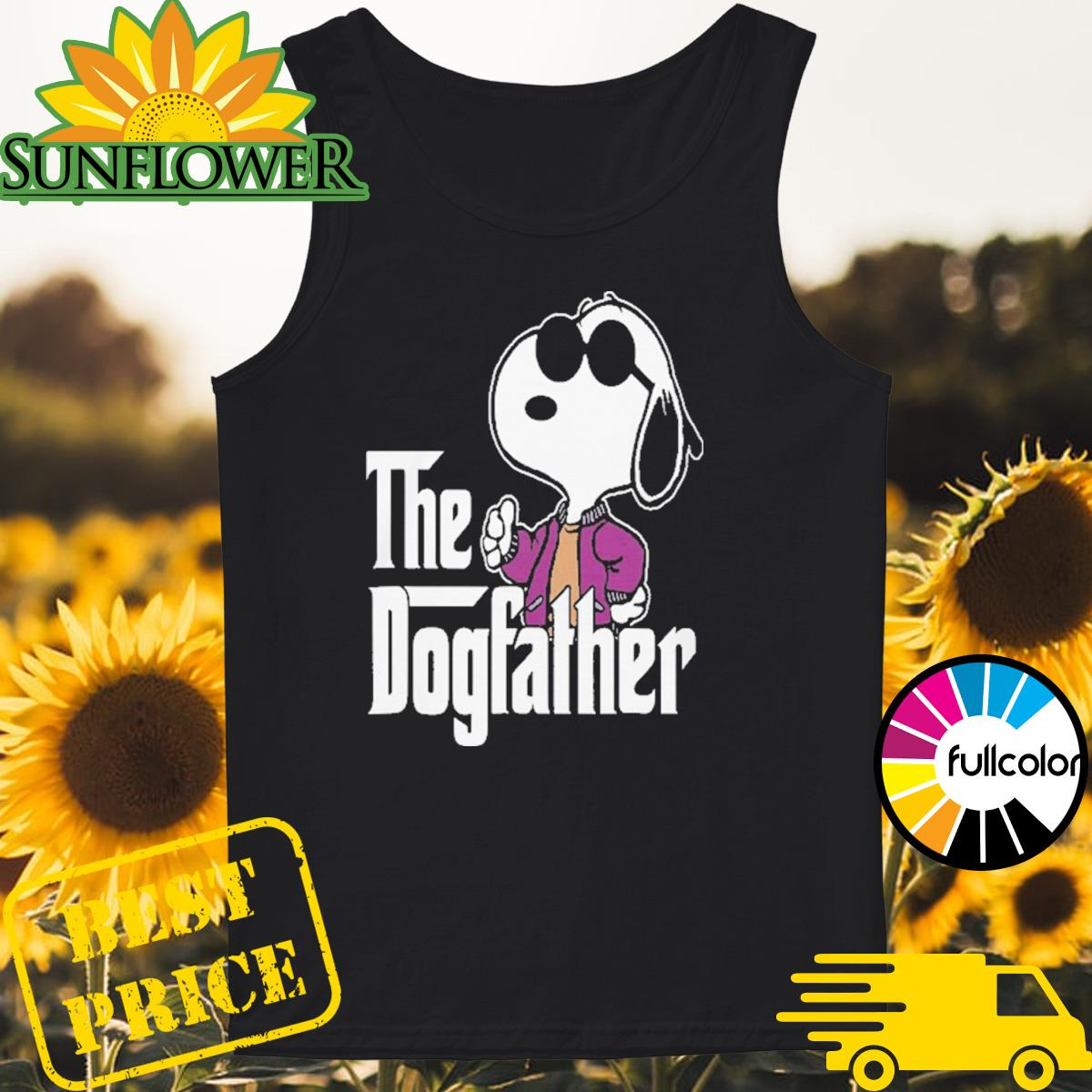 Snoopy The Dogfather Tank-top