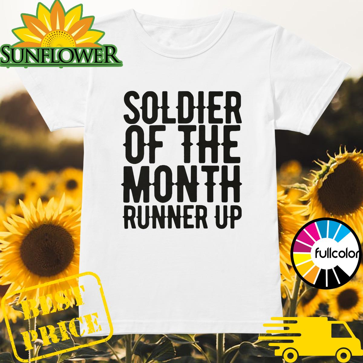 Soldier of the month runner up Ladies