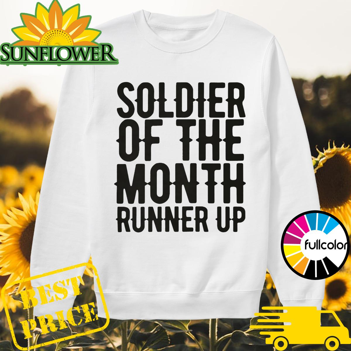 Soldier of the month runner up Sweater