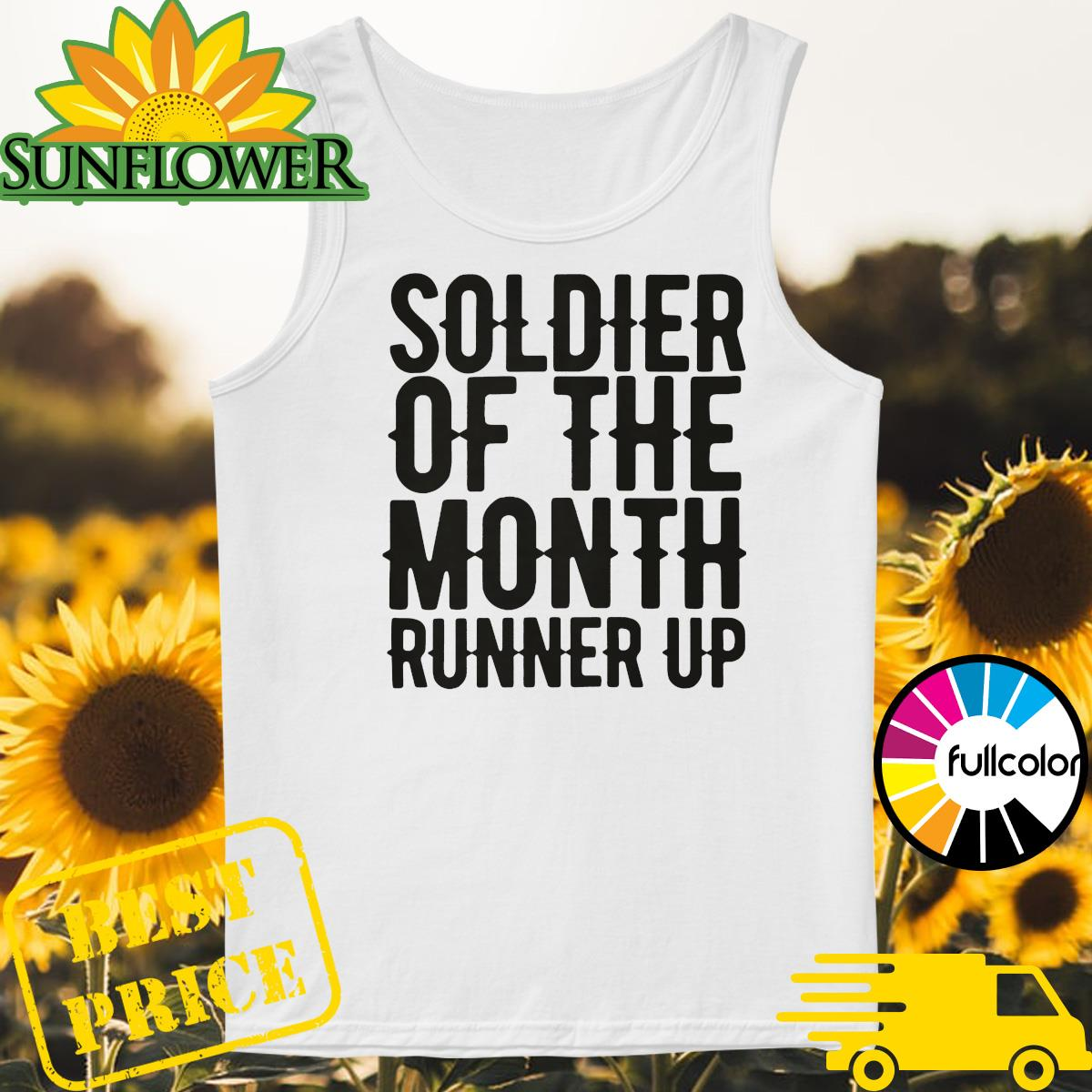 Soldier of the month runner up Tank-top