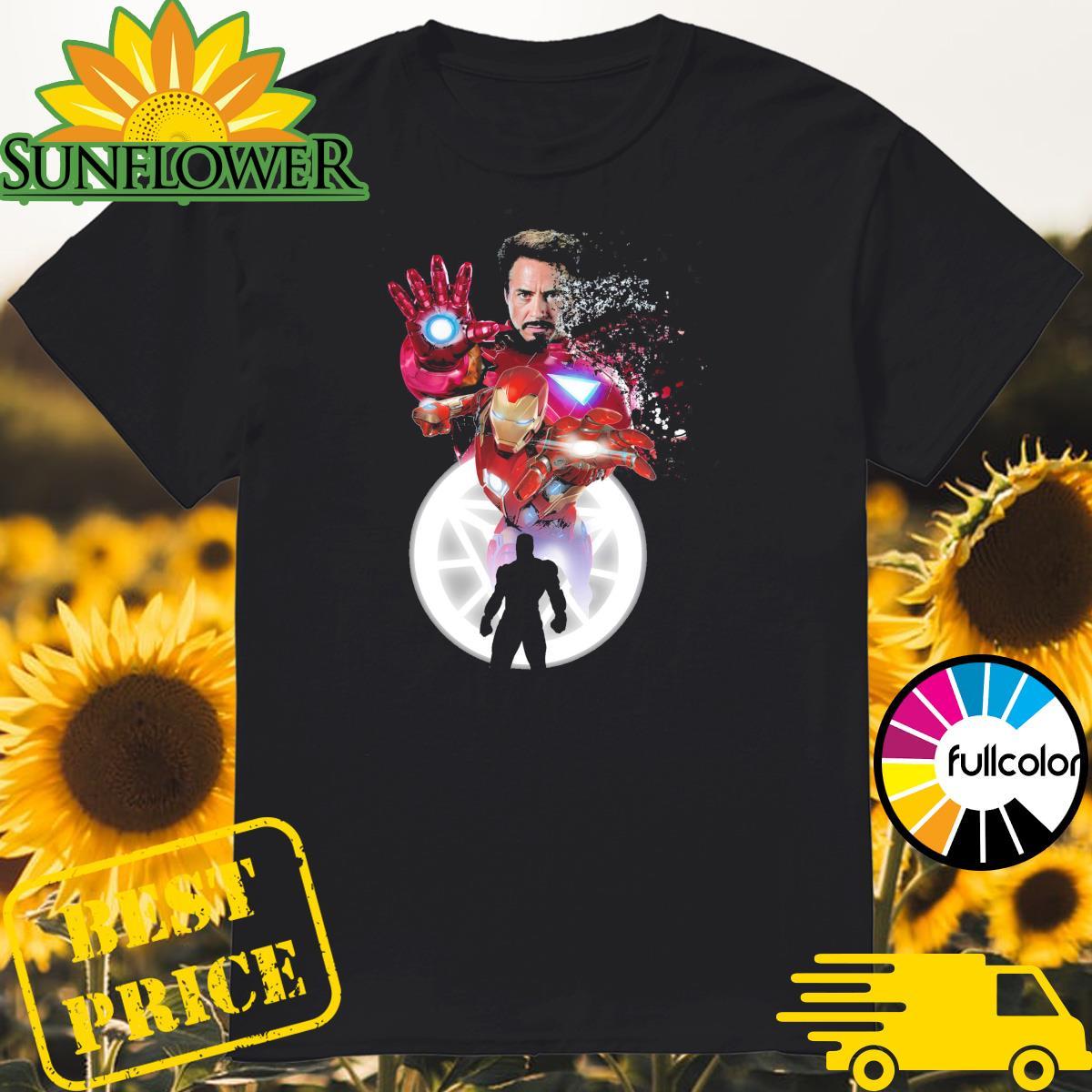 Tony Stark Iron Man thanks for the memories shirt